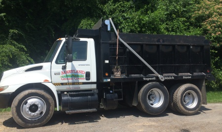 15 Ton Dump Truck Maryland Delivery