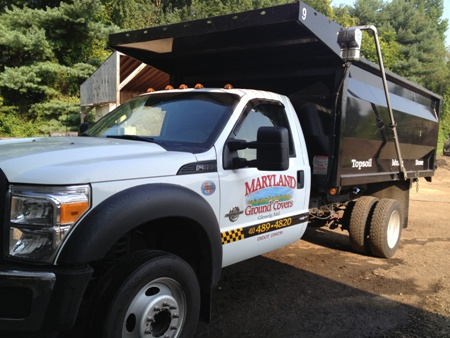 Mulch Delivery Truck Maryland